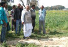 जौनपुर : मनरेगा कार्यों की स्थलीय जांच को महुवारी पहुंचे लोकपाल