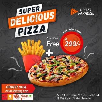 सर्वाधिक पढ़ा जाने वाला जौनपुर का नं. 1 न्यूज पोर्टल Pizza Paradise की तरफ से देवउठनी एकादशी की हार्दिक बधाई एवं शुभकामनाएं   #TejasToday