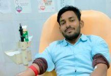 युवा सपा नेता निखिल ने रक्तदान कर किया महादान | #TejasToday